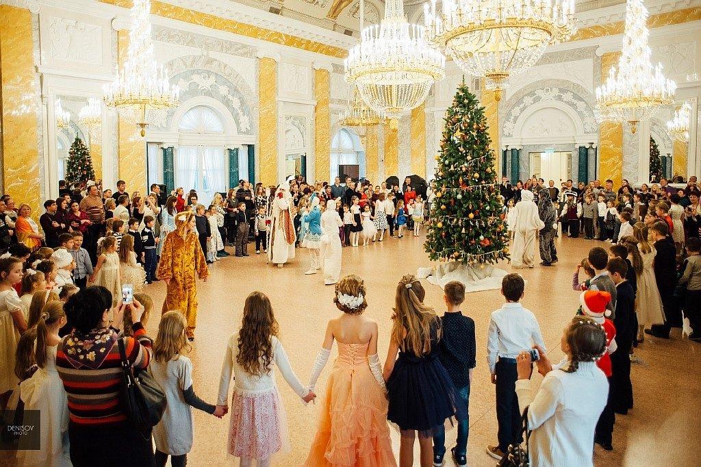 Детская новогодняя елка вКонстантиновском дворце 2019