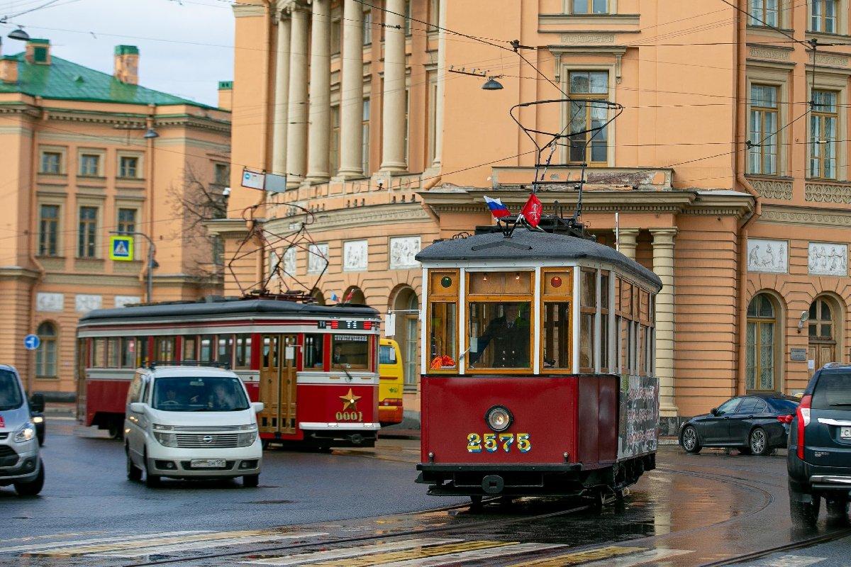 Парад «Трамвай Победы» 2020