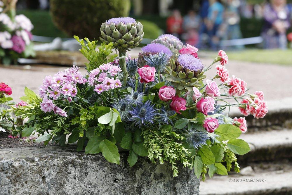 Фестиваль цветочного иландшафтного искусства «Императорский букет» 2017