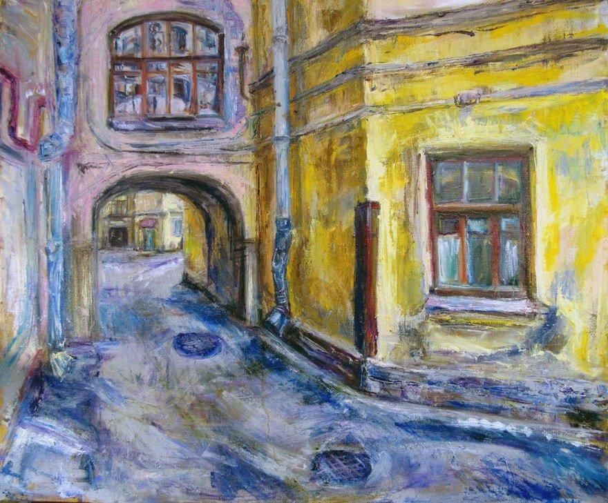 Выставка «Любимые дворы иуголки старого города»