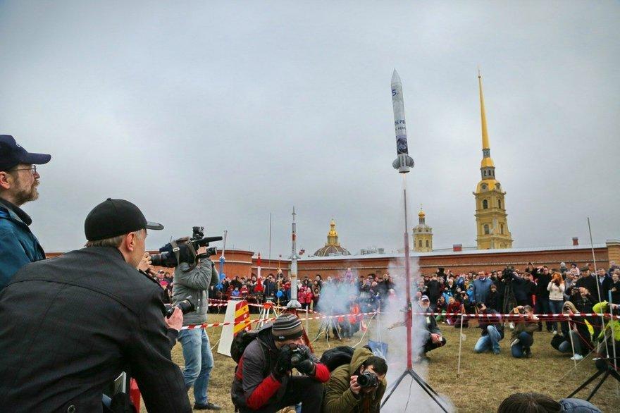Праздник «День космонавтики вПетропавловской крепости» 2018