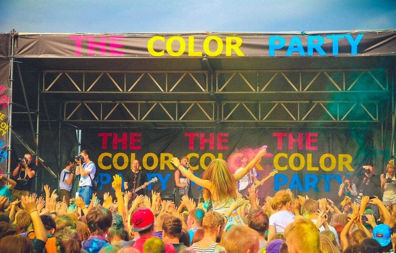 Фестиваль красок «The color party» 2016