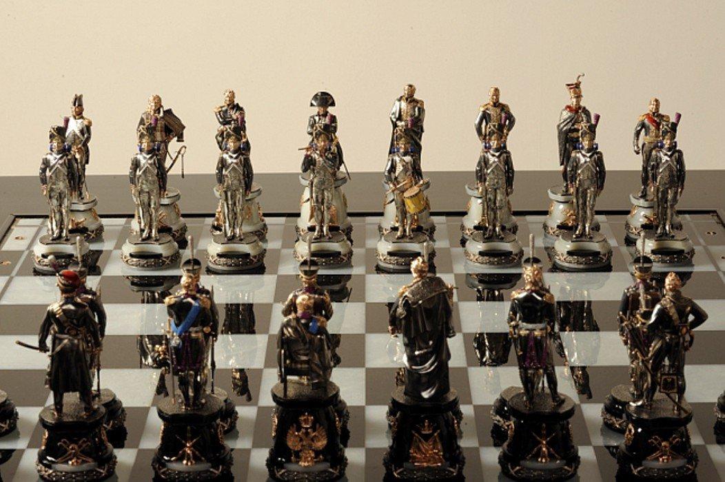 Выставка «Шахматы.1812 год»