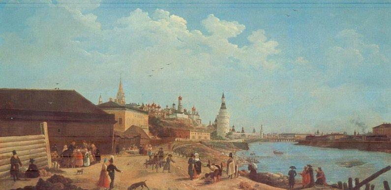 Выставка «Москва времен Екатерины IIи Павла Iв картинах Жерара Делабарта»