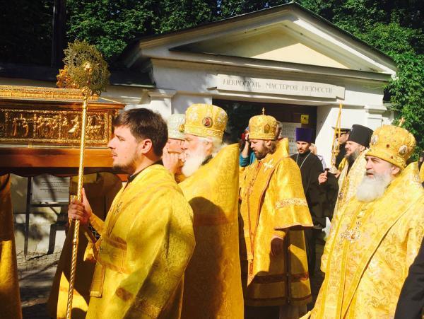 Доступ кМощам святителя Николая Чудотворца вСанкт-Петербурге