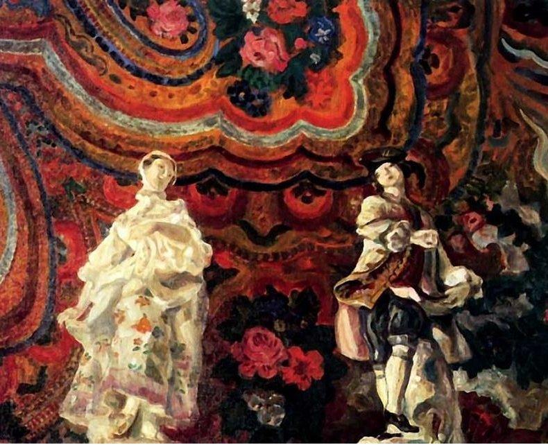 Выставка «Виктор Борисов-Мусатов имастера общества «Голубая роза»