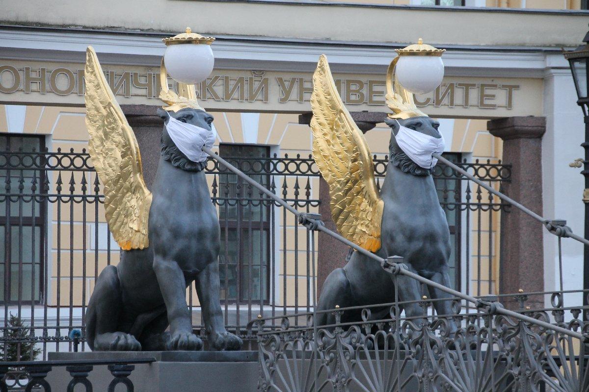 Карантин вСанкт-Петербурге 2020/21