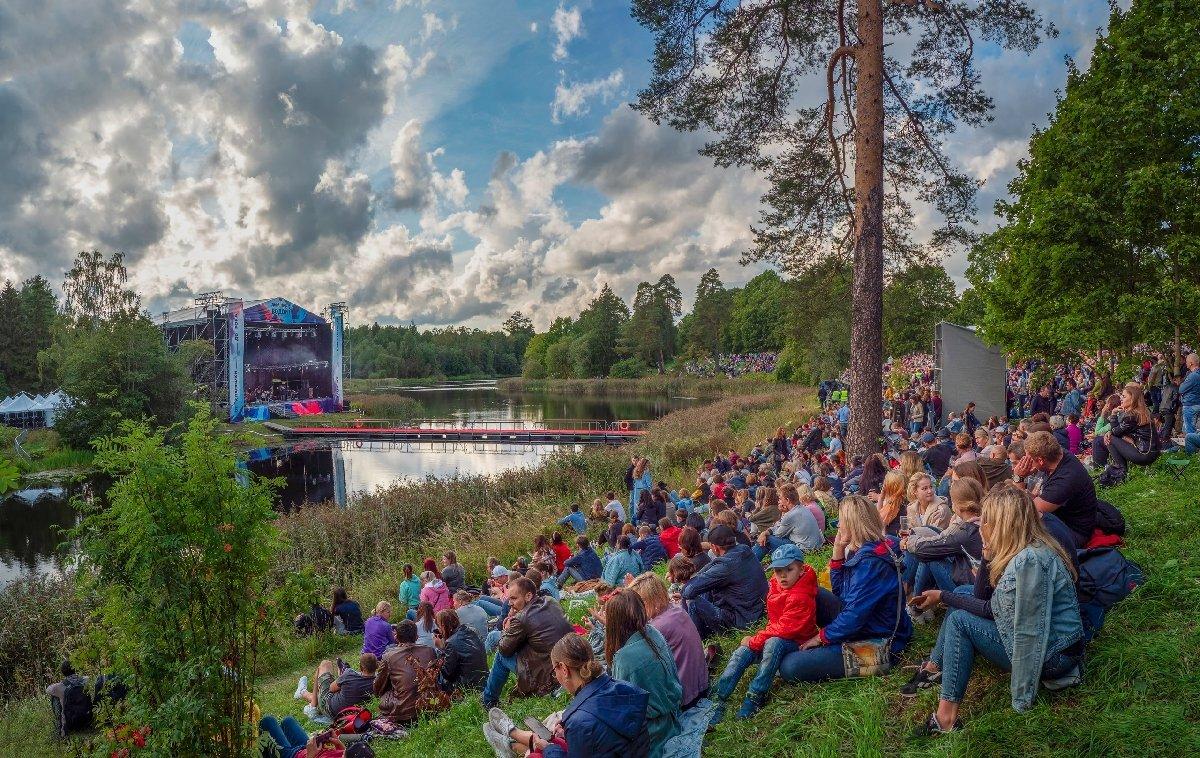 Фестиваль «Дым над водой» вПриоратском парке Гатчины 2020