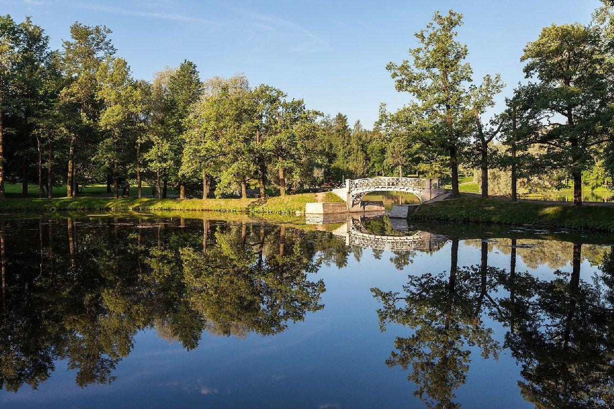 Открытие Гатчинского парка лето 2020