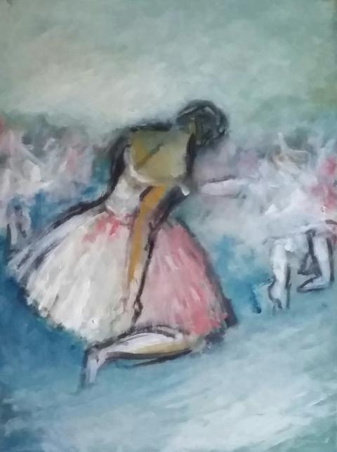 Выставка «Безмолвный танец. Посвящение Карле Фраччи»