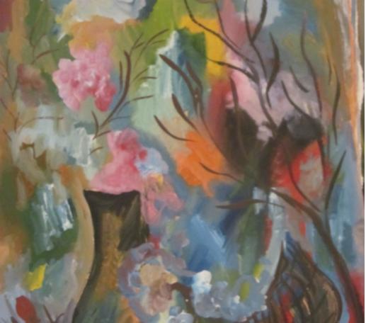 Выставка «Цвет грусти»