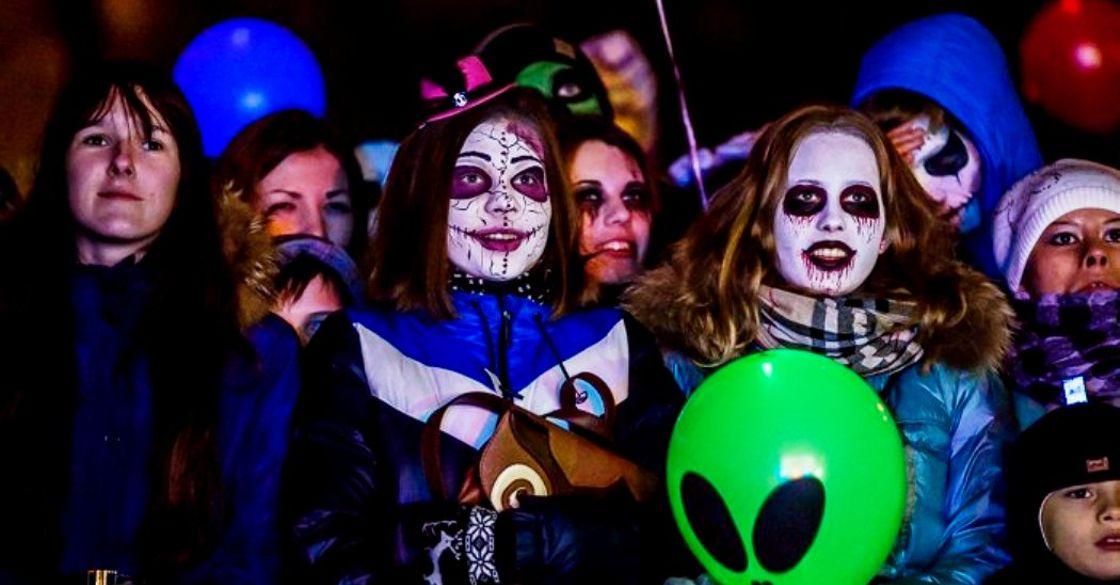 Хэллоуин впарке Сказок 2019