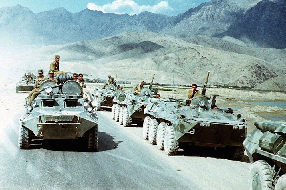 Военно историческая реконструкция «Афган— операция Магистраль»