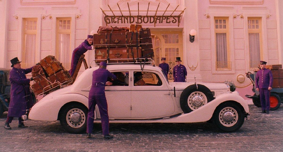 Показ фильма «Отель «Гранд Будапешт» вкиноцентре «Родина»