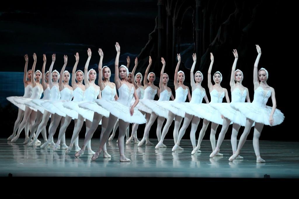 Балет «Лебединое озеро» вМариинском театре