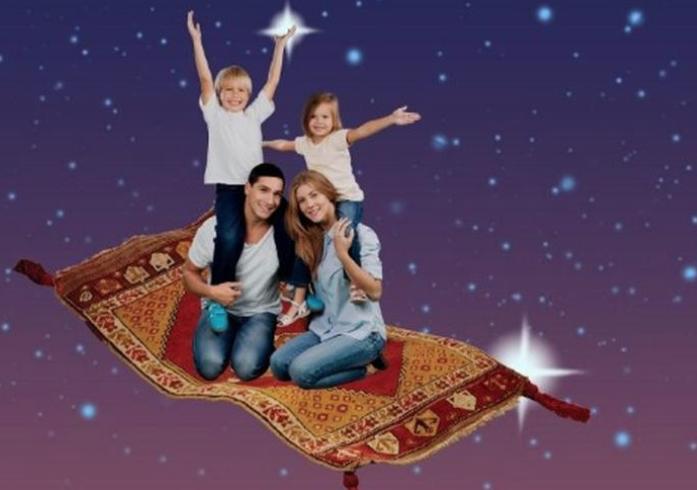 Семейная программа «Ковер-самолет: путешествие наВосток»