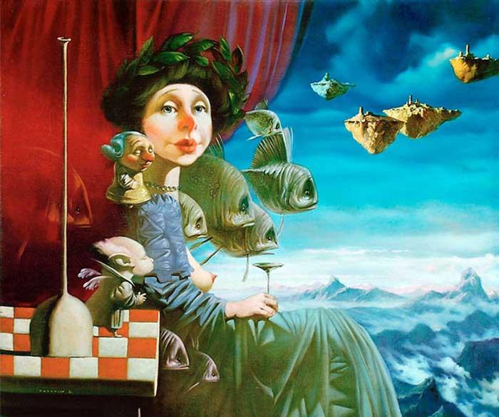 Выставка «Дмитрий Яковин. 20 лет вмикрореализме»
