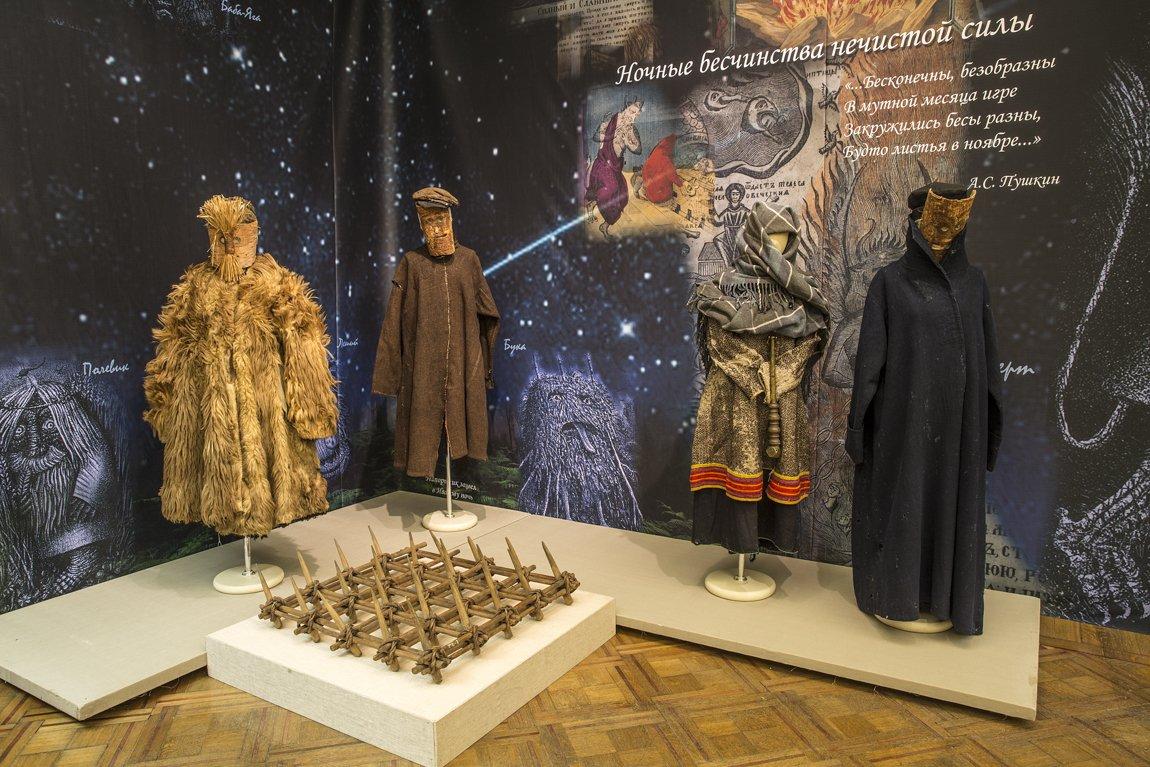 Выставка «Образы ночи врусской народной культуре»