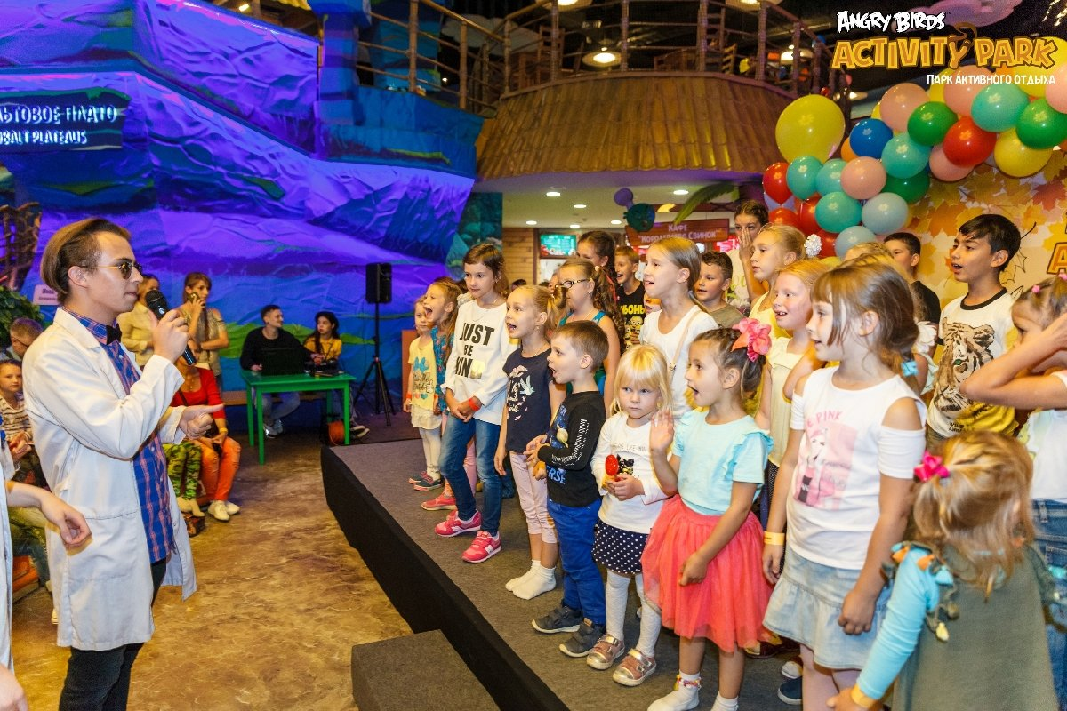 Лето впарке Angry Birds Activity Park-2021
