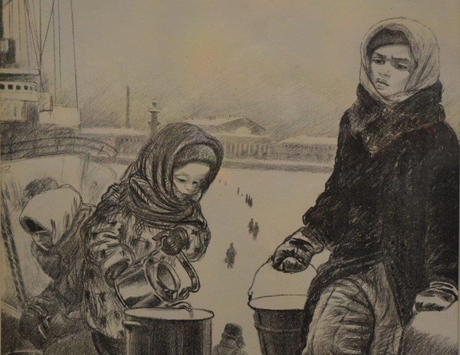 Выставка «По дороге кТаврической. Блокадная графика Елены Марттила»