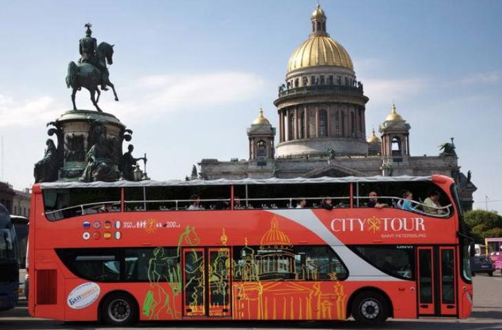 Обзорная экскурсия надвухэтажном автобусе Сити Тур