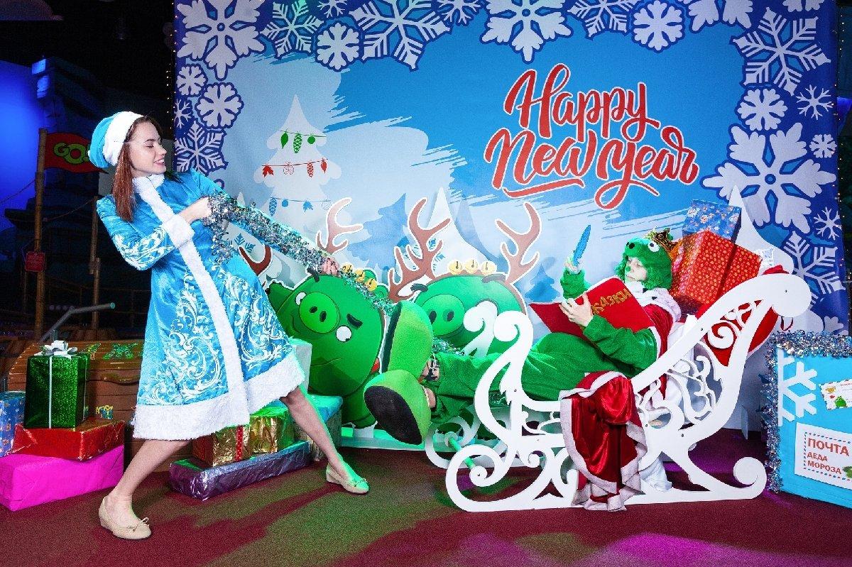 Резиденция Деда Мороза наОстрове Свинок 2020
