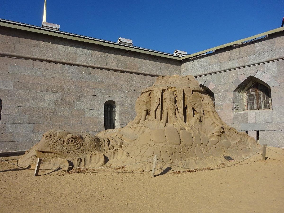 Фестиваль песчаных скульптур— 2019 «Затерянные миры»