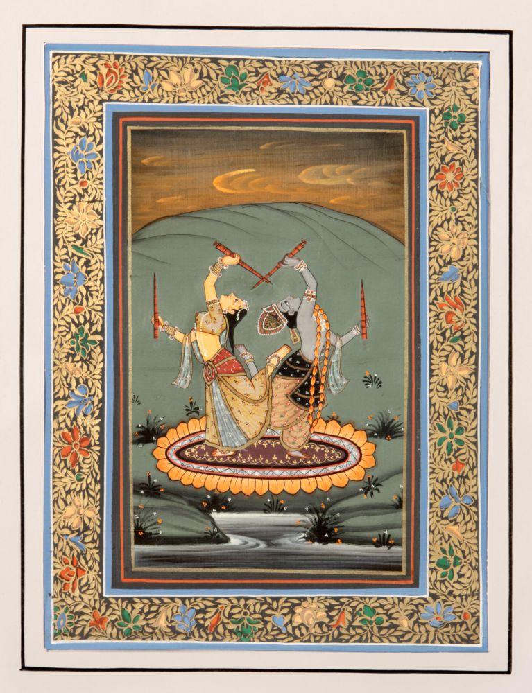 Выставка «Тысяча лепестков лотоса: домашние ихрамовые ритуалы виндуизме»