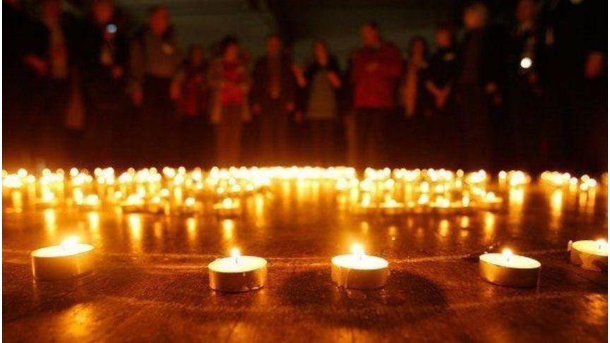 Народная акция памяти «Свеча нааллее Славы» январь 2017