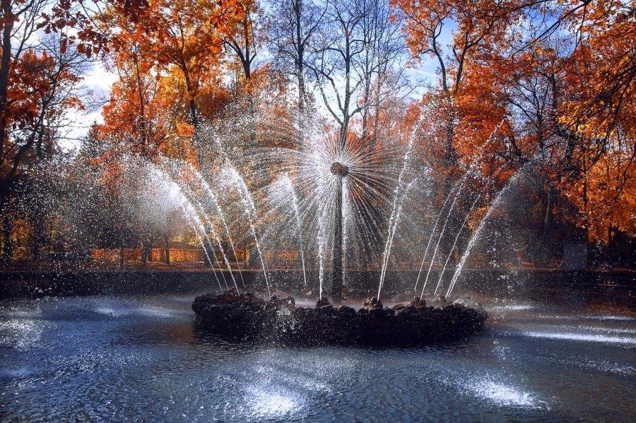 Закрытие фонтанов вПетергофе
