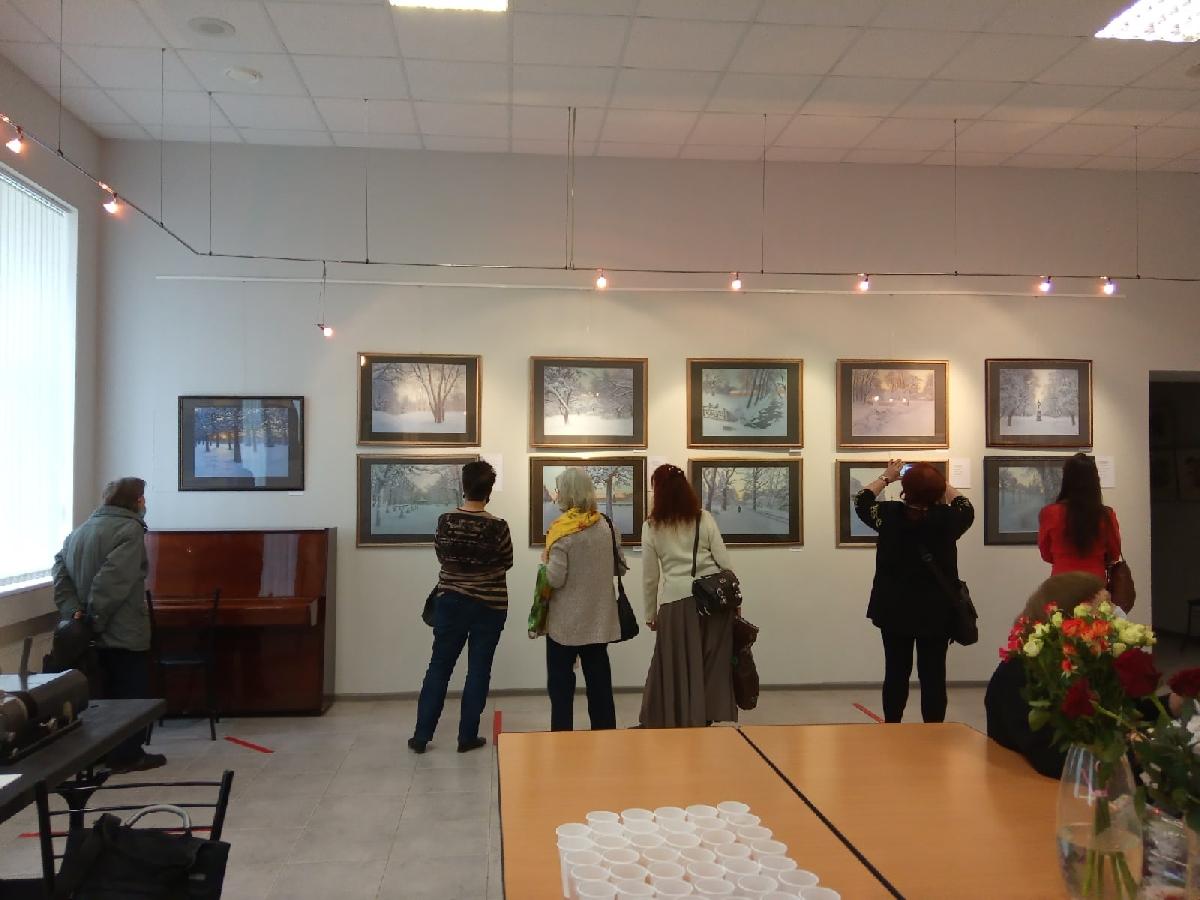 Выставка «Пейзаж впастельных тонах»