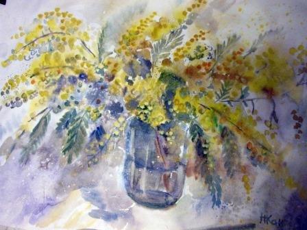 Выставка «Цветы нам дарят вдохновение»