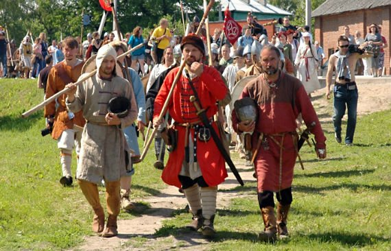 Фестиваль «Старая Ладога– первая столица Руси»