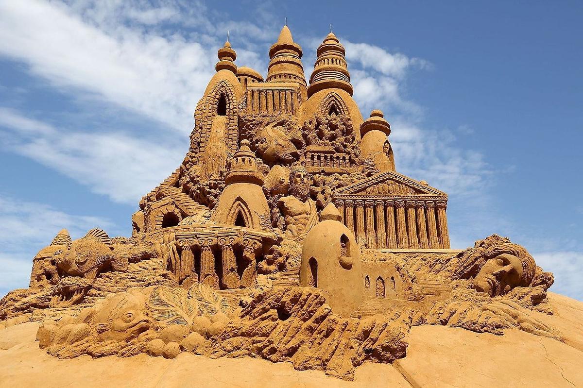 Фестиваль Песчаных скульптур-2021