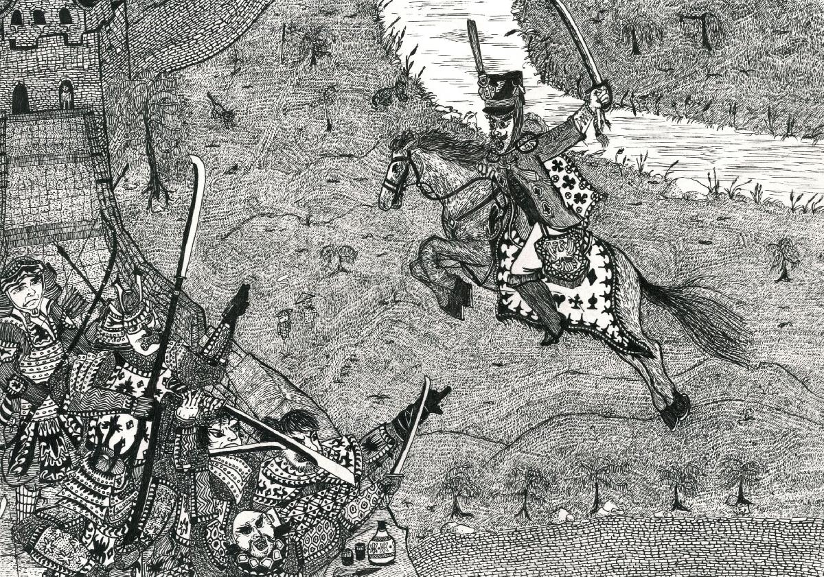 Выставка графики Никиты Родина