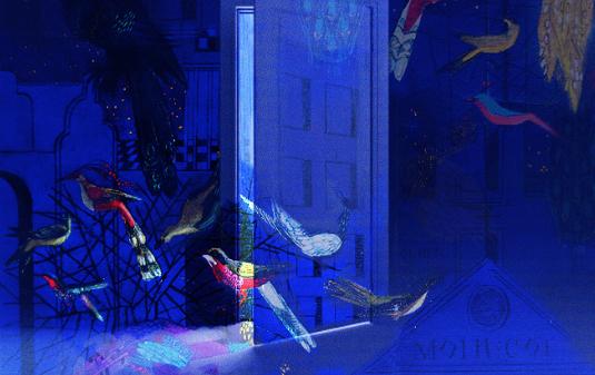 Детская интерактивная выставка-путешествие «Тайна синей птицы»