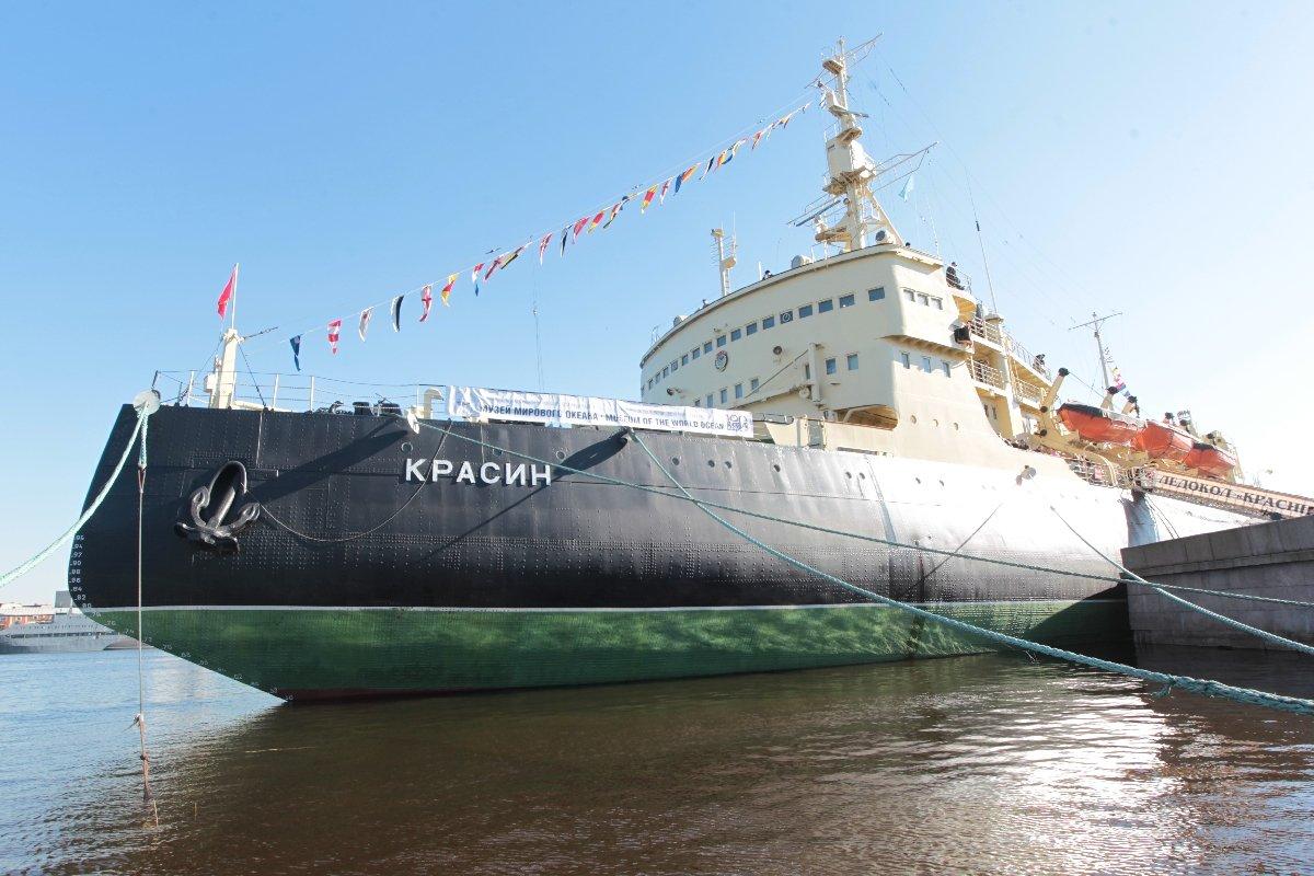 Экскурсии наборт ледокола «Красин» лето 2020