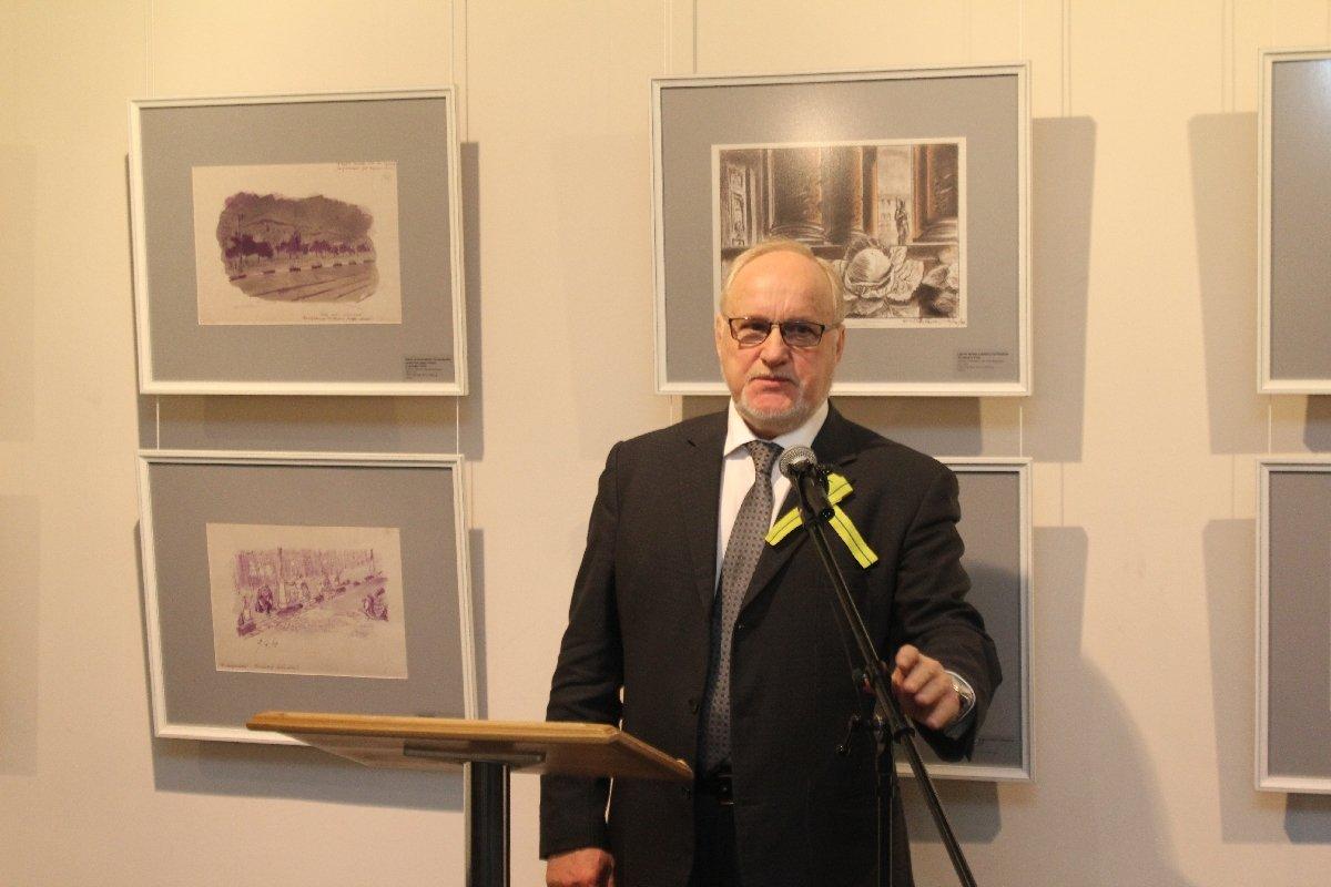 Выставка «Рисуя блокаду. Дневник архитектора Я. О. Рубанчика. 1941–1945»