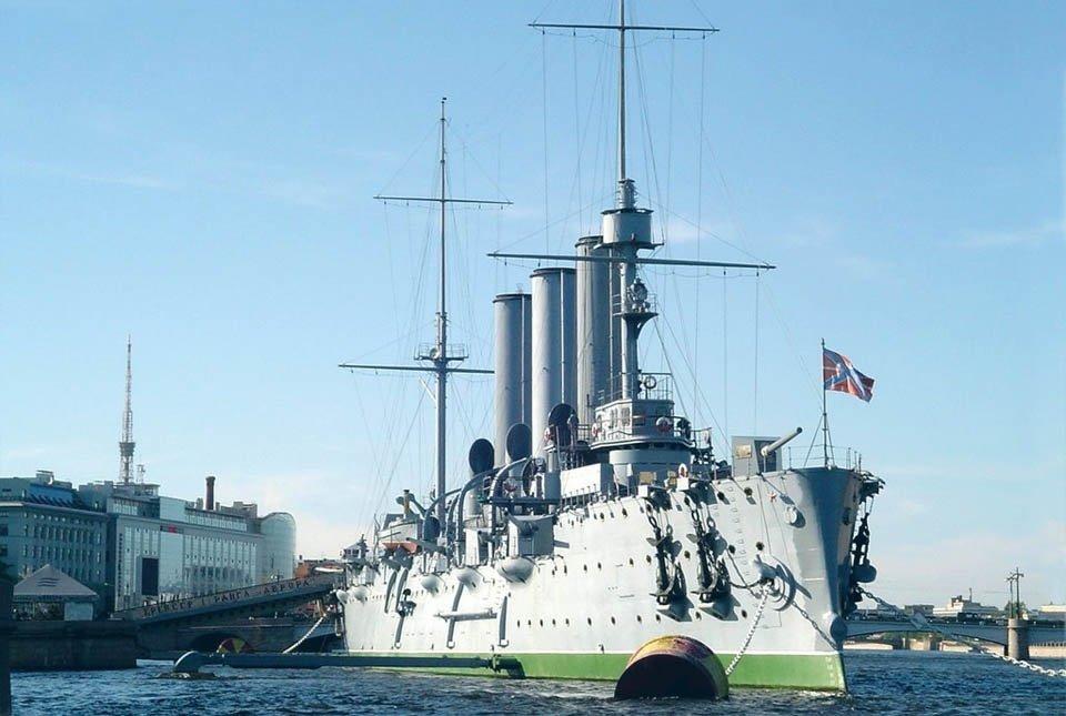 Возвращение крейсера «Аврора» 2016