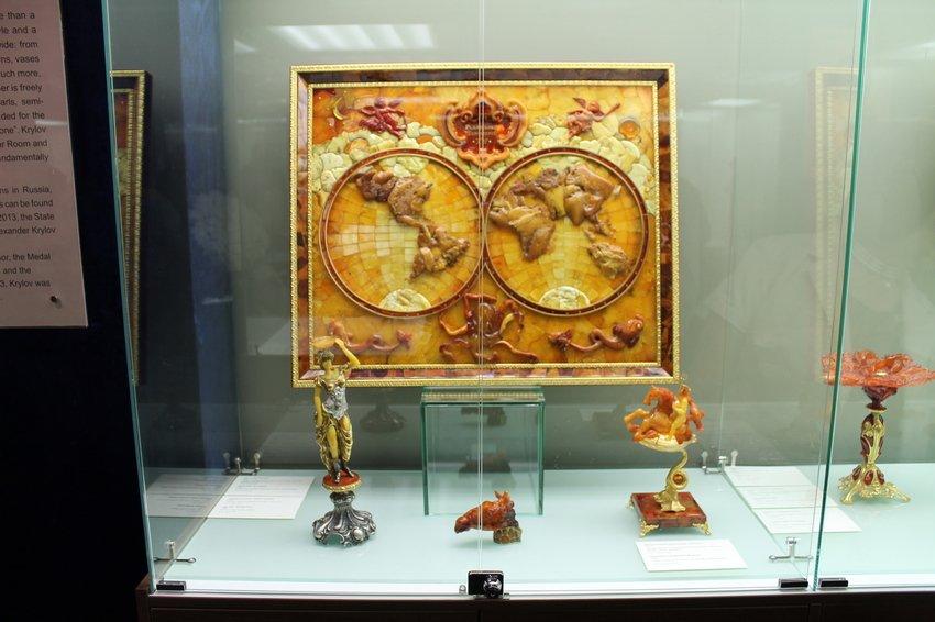 Музея янтаря Александра Крылова
