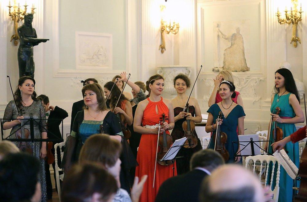 Концерт вГатчинском дворце к8 марта