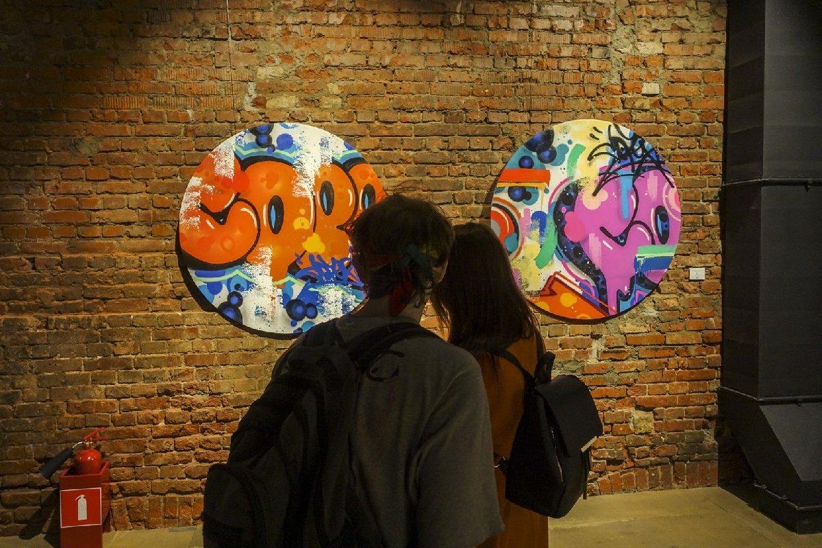Выставка «Граффити вэпоху интернета»
