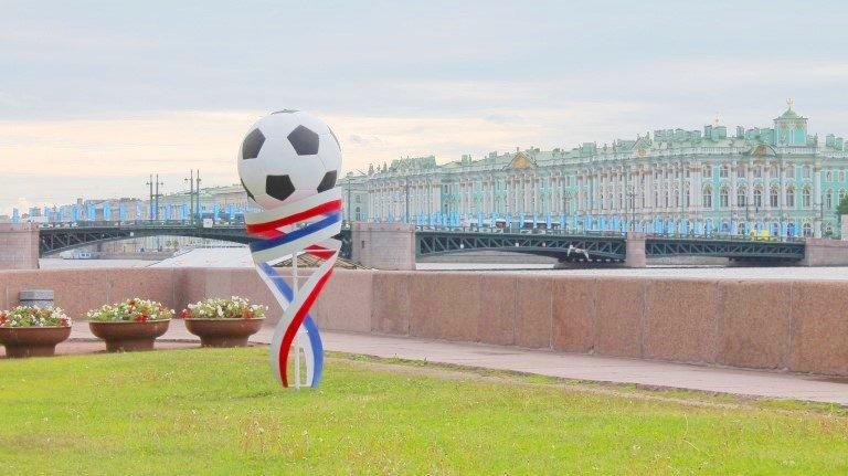 Экскурсия натеплоходе «Футбольный Петербург»