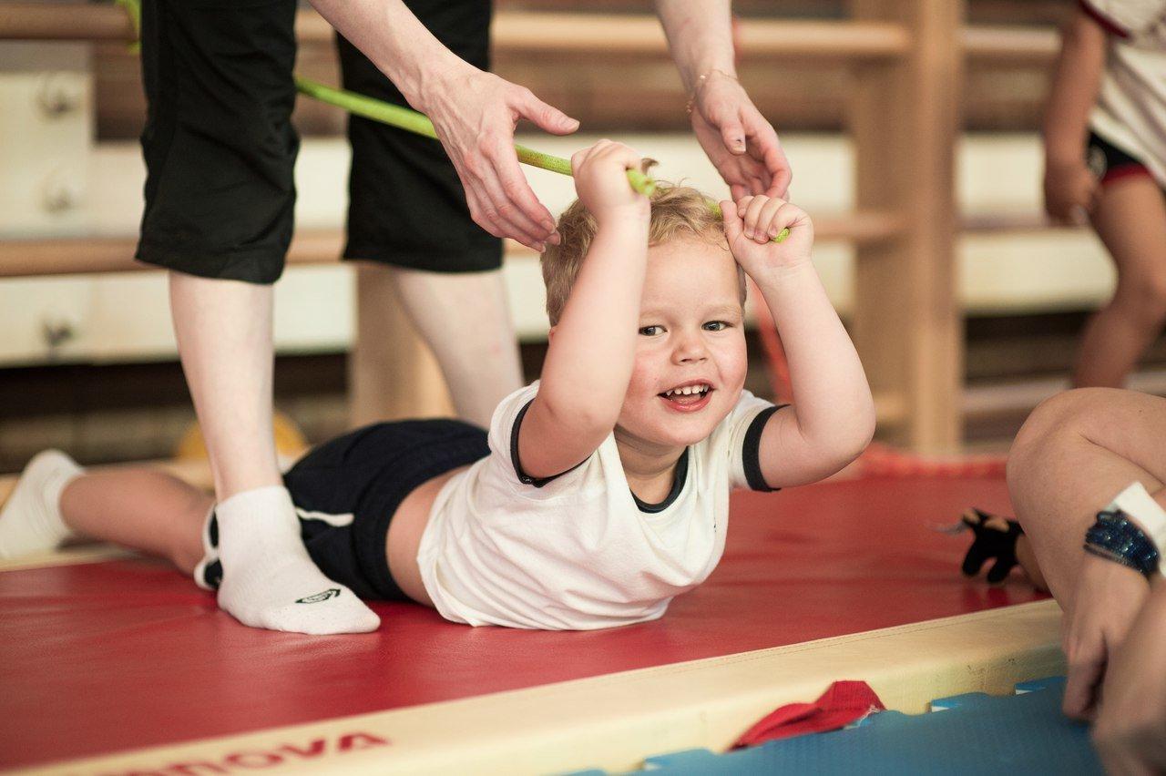 Набор детей вГимнастический центр Baby Gym
