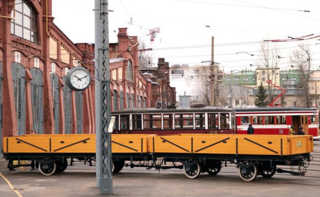 Выставка «Трамвайные парки вгоды Великой Отечественной войны»