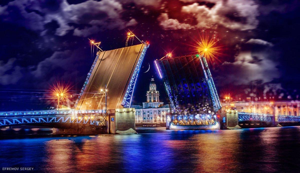 График развода мостов вСанкт-Петербурге 2020