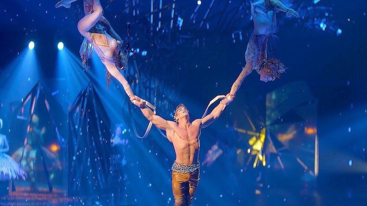 Путешествие постране снов откоманды Cirque duSoleil онлайн