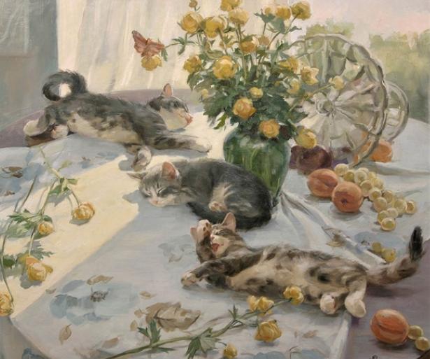 Фестиваль «Портрет кошки-2018»