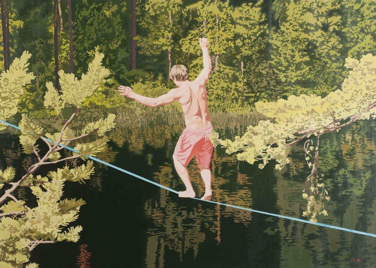 Выставка «Олег Маслов. ОМ13»