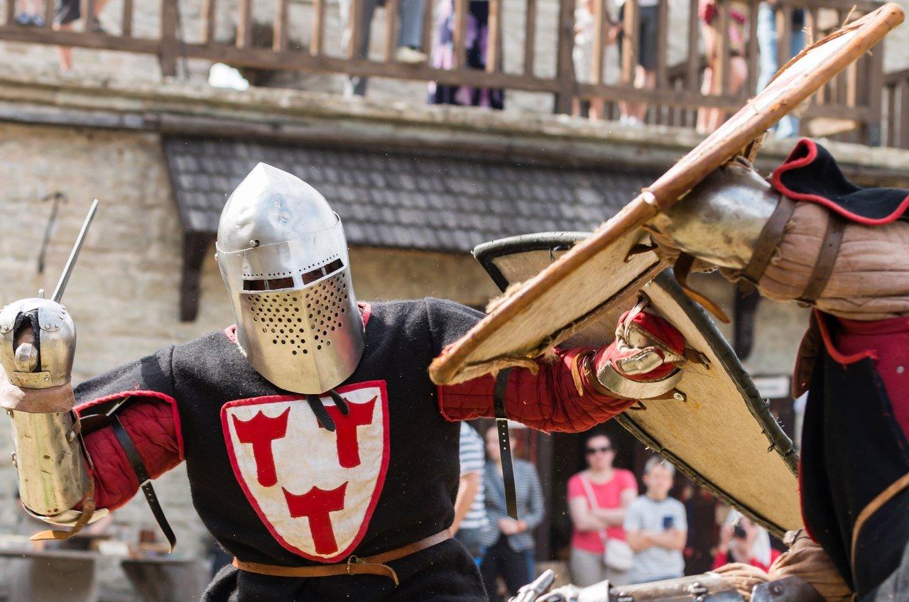 Военно-исторический фестиваль «Рыцарский Замок» 2016